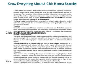 Know Everything About A Chic Hamsa Bracelet