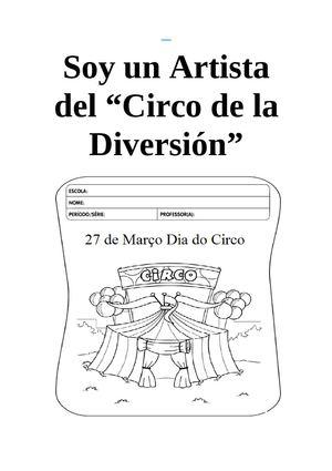 Calaméo - PROYECTO: EL CIRCO
