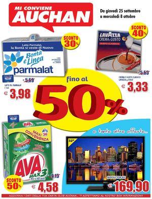 Auchan Divano Letto.Calameo Volantino Auchan Calabria 25settembre 5ottobre