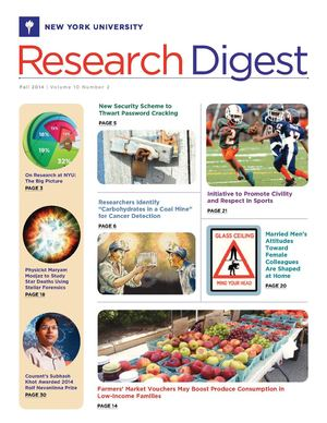 NYU Research Digest [Fall 2014-15]
