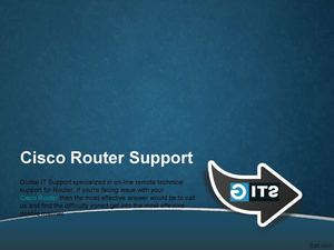 Technical Support For Cisco® Router | Cisco Router Support Phone Number