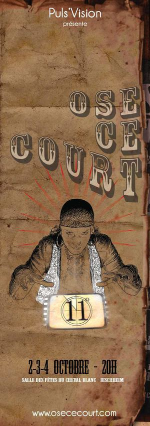 Programme Ose Ce Court - 2/3/4 oct. 2014