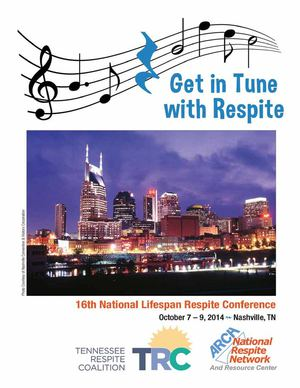 Conference Program - 2014 National Lifespan Respite Conference