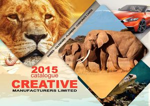 Creative Manufacturers Limited 2015 Diaries & Calendars Catalogue