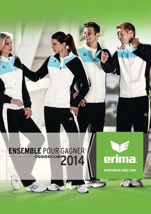 Catalogue Erima 2014
