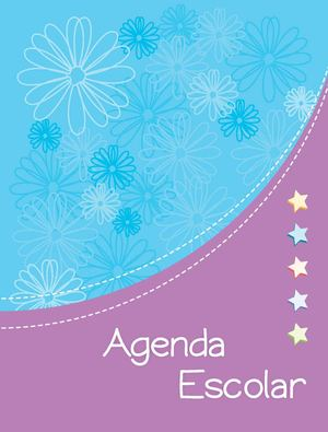 Book Design Sample: A09. Agenda Escolar P1