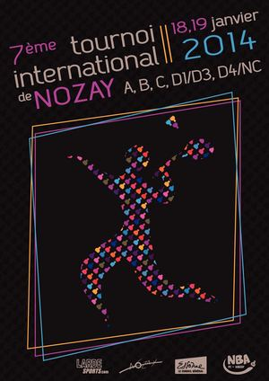 Plaquette Tournoi International de Nozay 2014