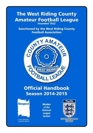 Something and west riding amateur football matchless