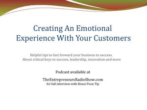 Creating An Emotional Experience With Your Customers