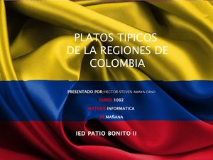 PLATOS TIPICOS REGIONES DE COLOMBIA FINAL