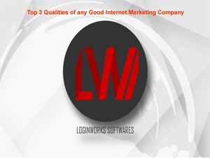 Top 3 Qualities of any Good Internet Marketing Company