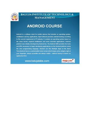 Android Course institute in delhi. Android Course institute in janankpuri