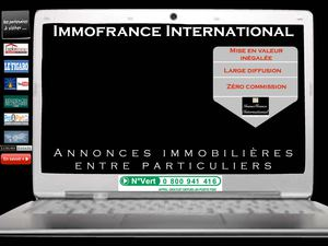 Immobilier international entre particuliers avec IMMOFRANCE INTERNATIONAL