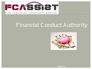 Financial industry regulation