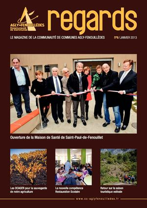Bulletin Intercommunal 2013 - Communauté de Communes Agly-Fenouillèdes