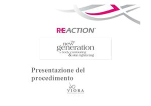 (354608054) Presentazione Reaction Lite