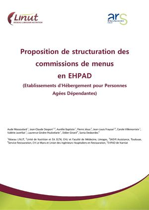 Guide de structuration d'une commission de menu (CM)