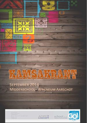 Kamsakrant September