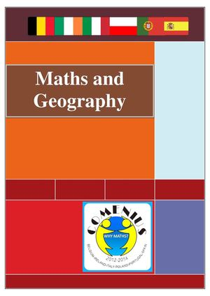Maths and Geography