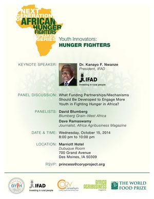 Hunger Fighters' Series-Sept 2014
