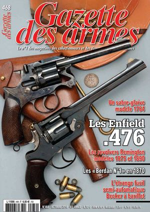 Gazette des Armes N°468 Octobre 2014