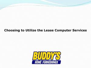 Choosing to Utilize the Lease Computer Services.ppt