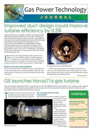 Gas Power Technology journal - 19 - 2014 October 1