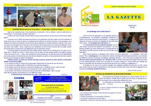 EHPAD Saint-Pierre - Gazette n°10 - Octobre 2014