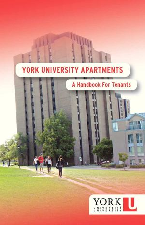 York Apartments Tenant Handbook