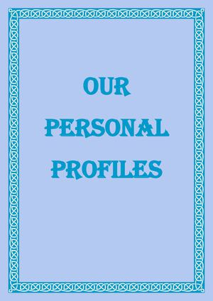 Our Personal Profiles