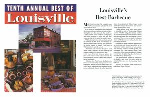 Louisville's Best Barbecue