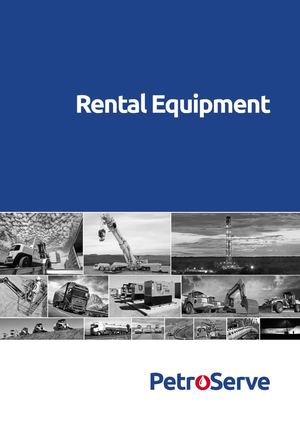 PetroServe - Rental Equipment