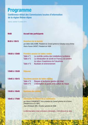 Programme Journee Inter Cli Du 10 Octobre 2014