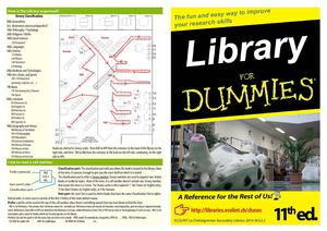 Library for dummies 2014