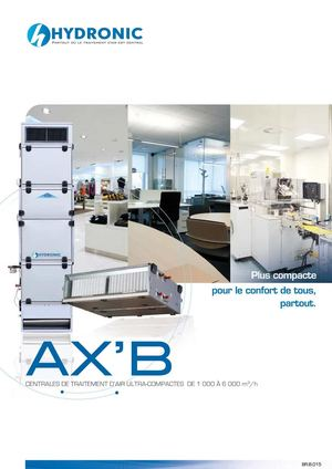 Brochure commerciale AX'B
