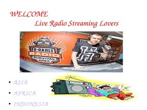Radio Live Streaming In Indonesia