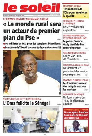Edition du 18 - 19 Octobre 2014