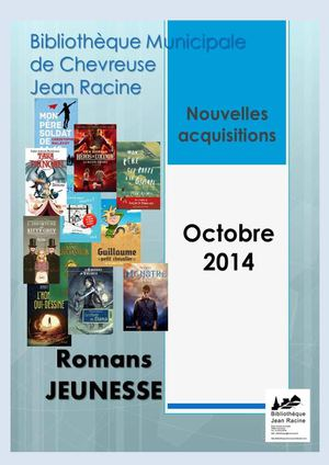 Fiction Jeunesse Octobre 2014