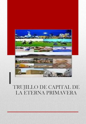 Catalogo Trujillo Capital De La Eterna Primavera