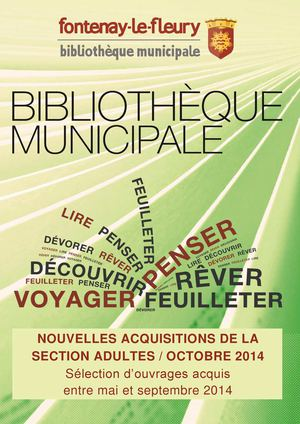 Acquisitions Adultes Octobre 2014