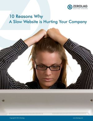 10 Reasons Why A Slow Website is Hurting Your Company