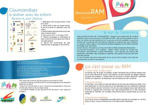 Journal du RAM AbracadaRAM