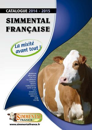 Catalogue Simmental 2015