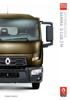 Renault Trucks D Cab 2m Gamma Distribuzione It 2014
