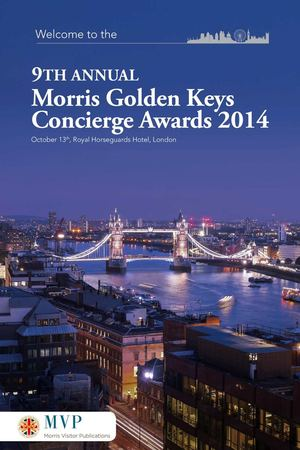 9th Annual Morris Golden Keys Concierge Awards 2014