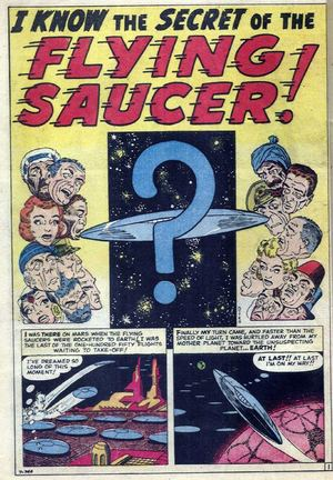 I Know The Secret Of The Flying Saucer
