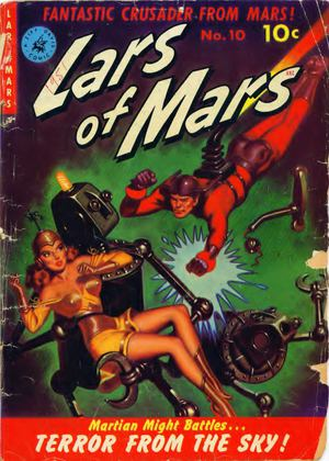 Lars Of Mars No 101951 Text