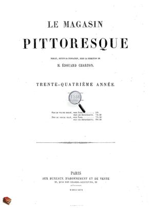 35032f6e129294 Calaméo - Le Magasin Pittoresque 1866