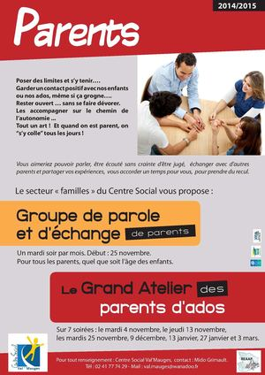 Affichette Parents