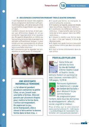 Calameo A Savoir Articles Sur L Espace De Jeu Des Enfants Le